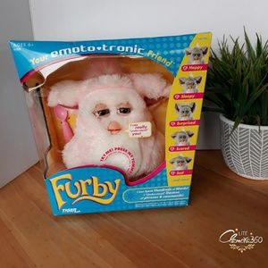 Hastro Furby Pink and White 2005 Rare